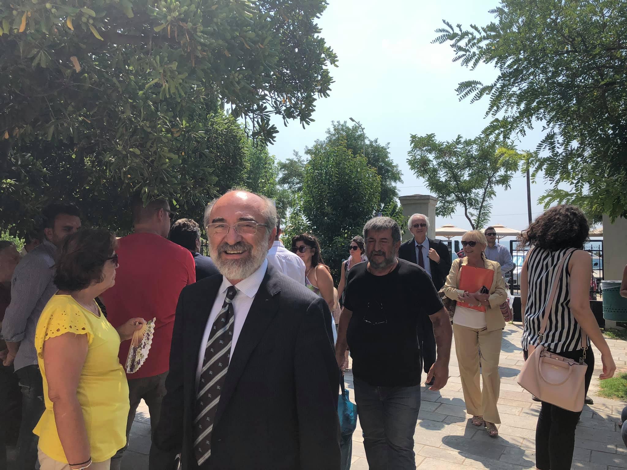 Ο απερχόμενος δήμαρχος Αλεξανδρούπολης Ευάγγελος Λαμπάκης