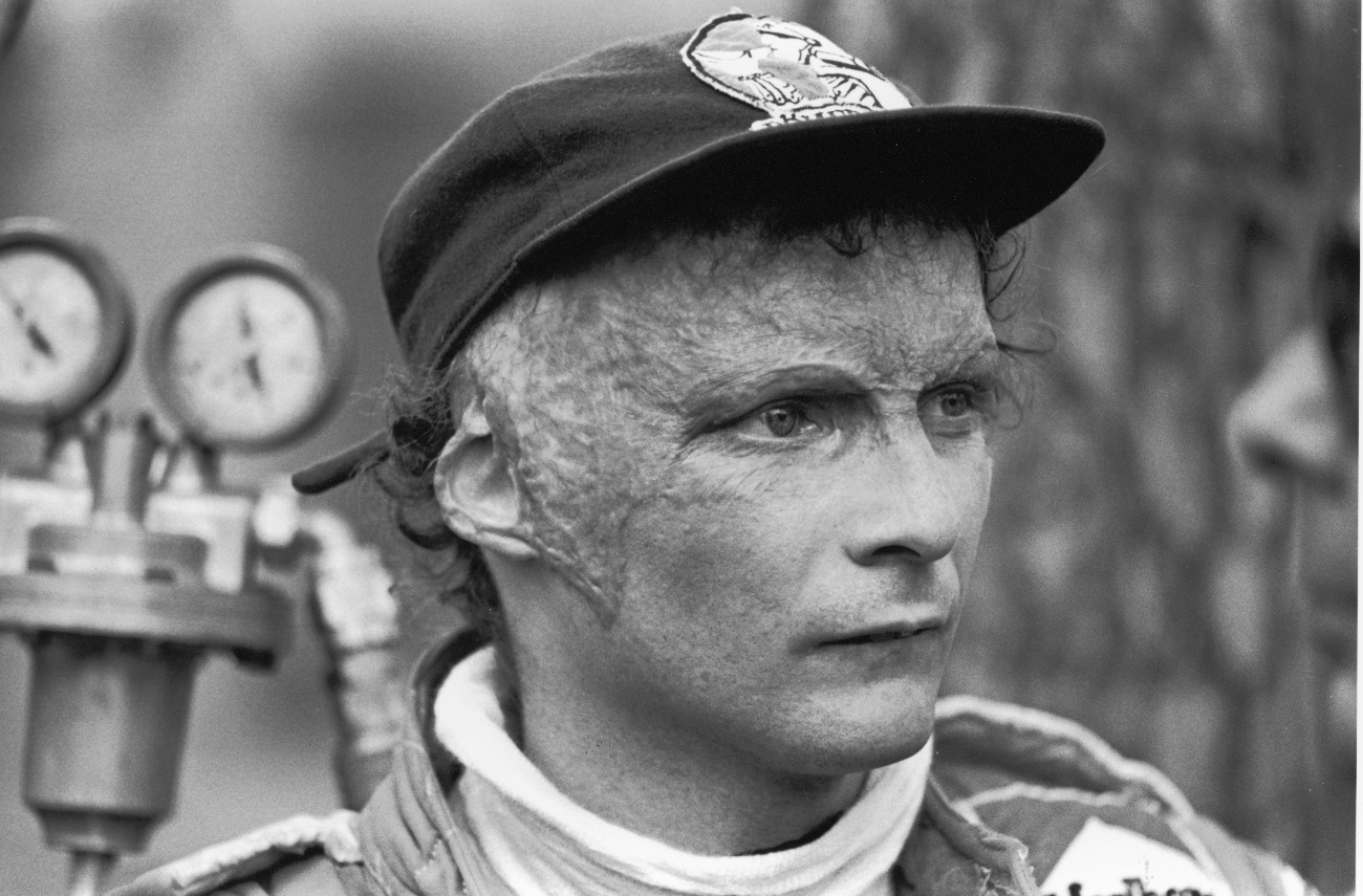 Ο Λάουντα τον Ιανουάριο του 1977