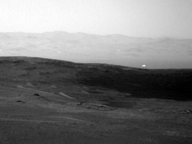 Λάμψη στην επιφάνεια του Αρη