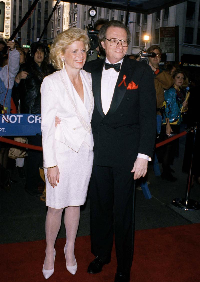 Ο Λάρι Κινγκ με την 7η σύζυγό του Τζούλι Αλεξάντερ
