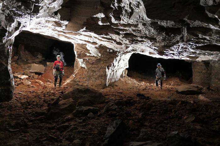 Οι γεωλόγοι έμειναν άναυδοι με το μέγεθος του λατομείου
