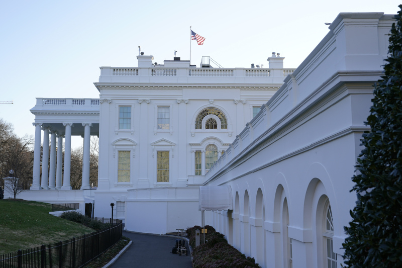 Ανανέωση χώρων της Ανατολικής Πτέρυγας του Λευκού Οίκου σχεδιάζει η Τζιλ Μπάιντεν