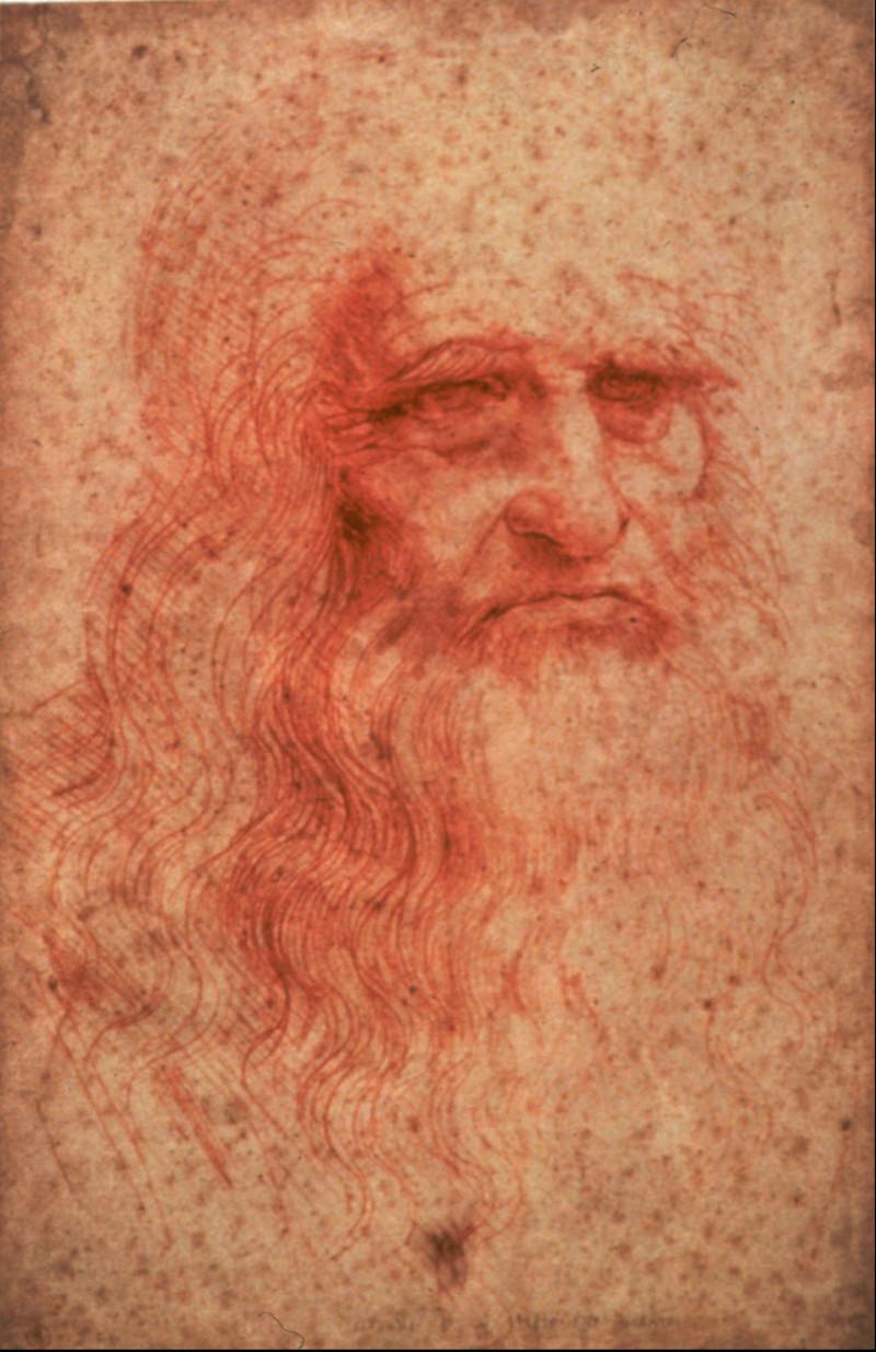 Αυτοπορτρέτο του Λεονάρντο Ντα Βίντσι