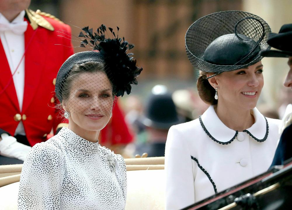 Η βασίλισσα Λετίθια με την Κέιτ Μίντλετον κάθισαν στην ίδια άμαξα