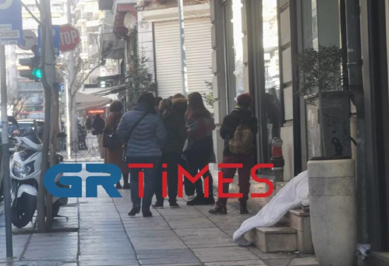 Λιανεμπόριο Θεσσαλονίκη ουρά