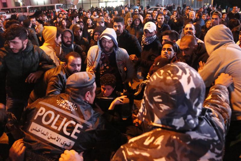 Αντικυβερνητικές διαδηλώσεις στο Λίβανο