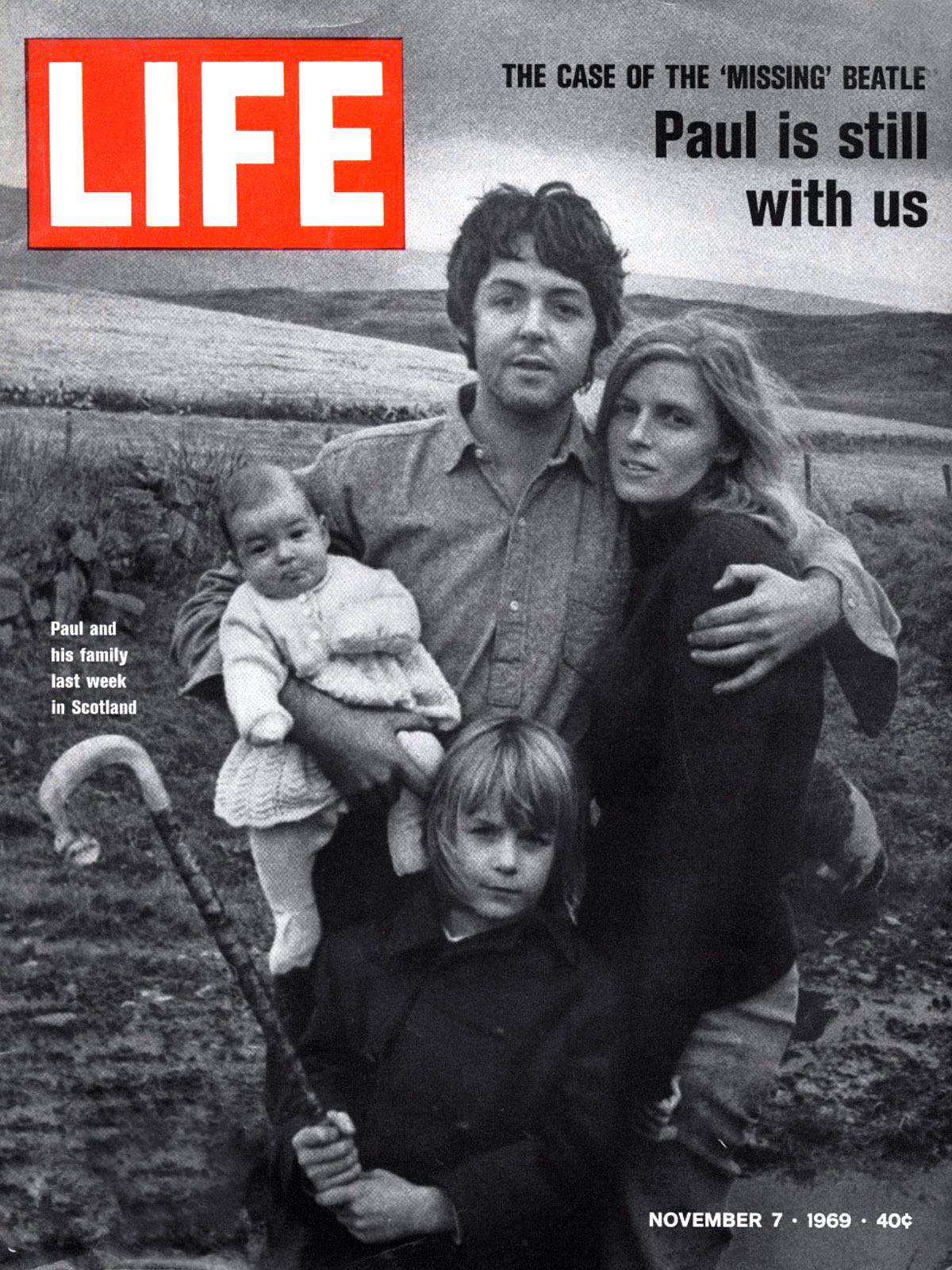 Το εξώφυλλο του περιοδικού Life