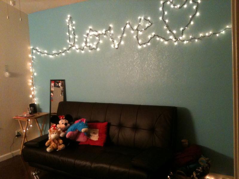 φράση χριστουγεννιάτικη με λαμπάκια