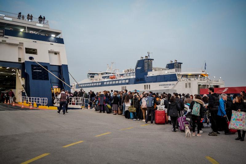 Από την Μεγάλη Πέμπτη ήταν αυξημένη η κίνηση στα λιμάνια