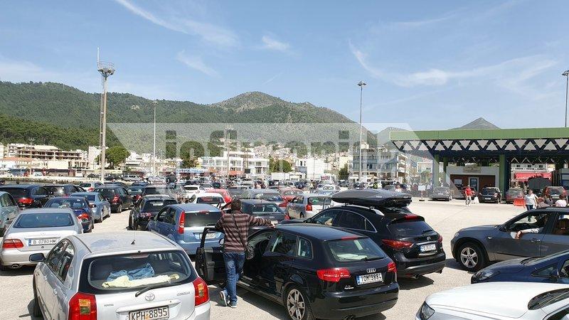 Το αδιαχώρητο στο λιμάνι της Ηγουμενίτσας