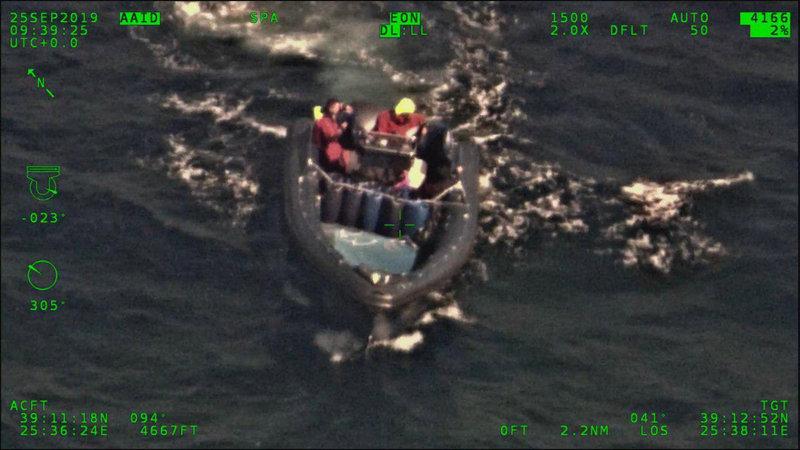 Το φουσκωτό σκάφος των εμπόρων ναρκωτικών