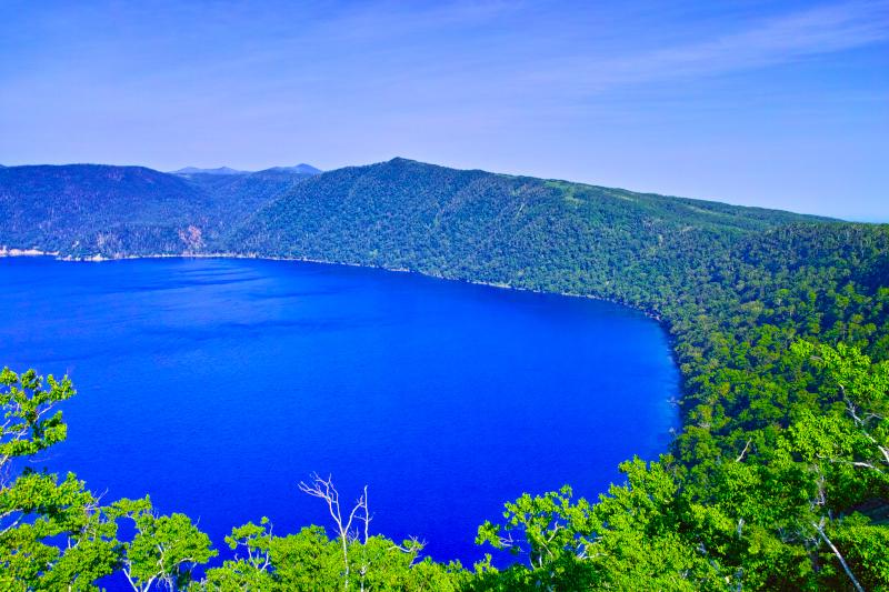 Η θέα από τη λίμνη Mashu