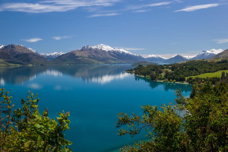 Απίστευτη θέα από τη λίμνη Wakatipu