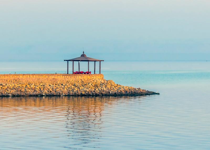 Η λίμνη Qarun