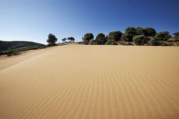 Η «Σαχάρα της Λήμνου« όπου γυρίστηκε η σκηνή της ερήμου στο «Μια Ελληνίδα στο Χαρέμι»