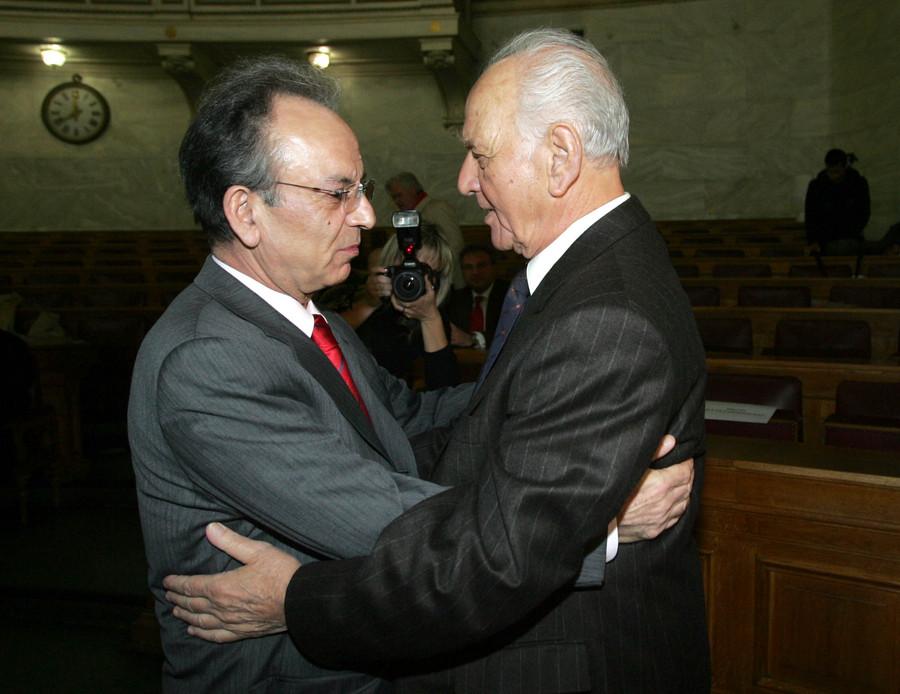 Αντώνης Λιβάνης και Δημήτρης Σιούφας