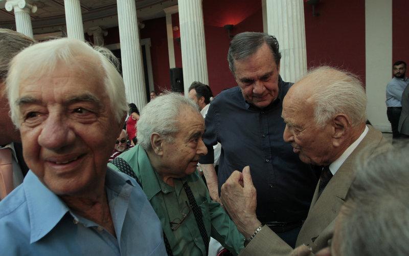 Αντώνης Λιβάνης, Θανάσης Τσούρας, Κ. Μπαντουβάς