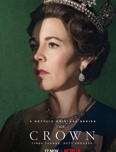 Η Ολίβια Κόλμαν στον ρόλο της βασίλισσας Ελισάβετ στον τρίτο κύκλο του δράματος «The Crown»