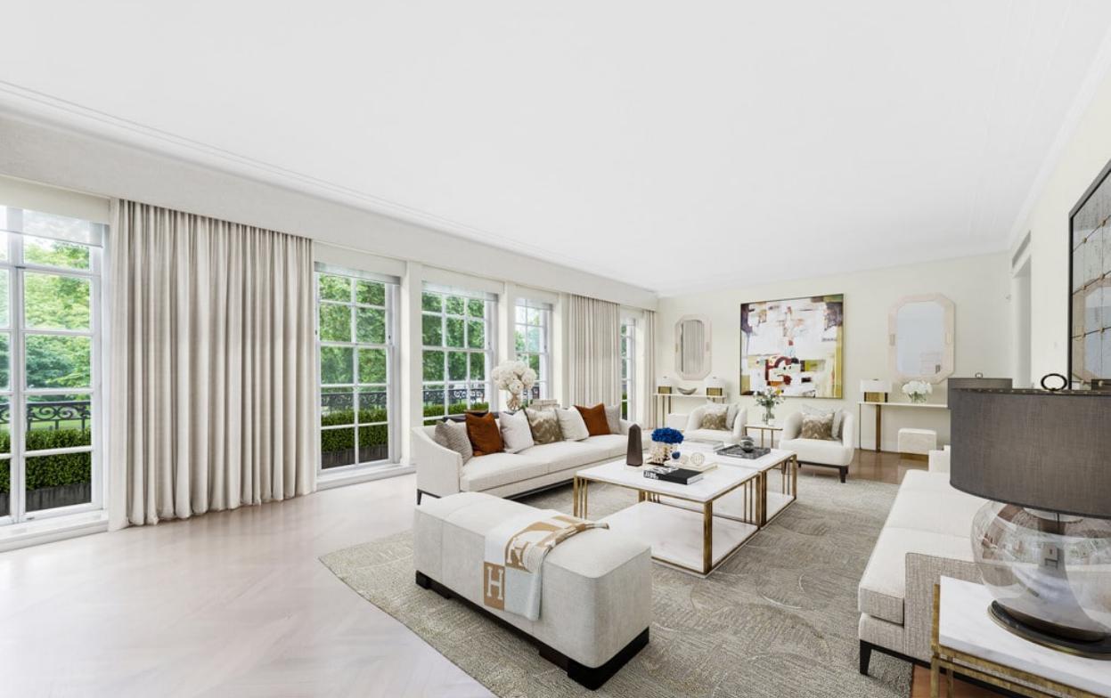 Μόνο το σαλόνι, με την απίστευτη θέα, θα μπορούσε να συγκριθεί με ένα συμβατικό διαμέρισμα