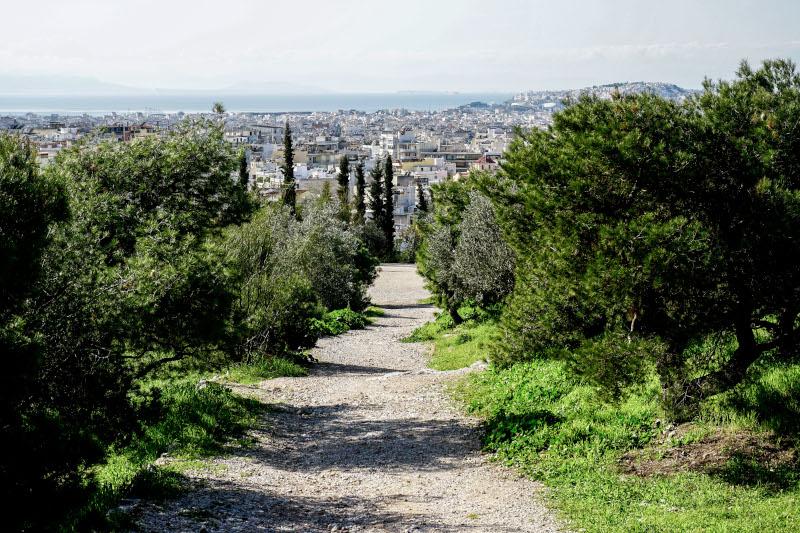 Μονοπάτι στον λόφο Φιλοπάππου