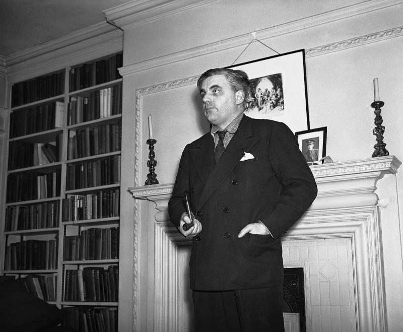 Ο Λόρδος Boothby στο γραφείο του στο Λονδίνο, το 1941
