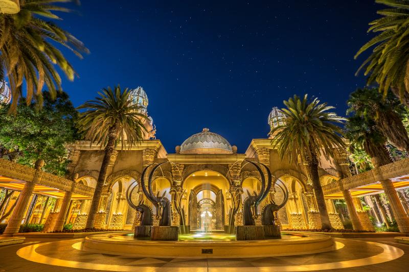 Στιγμιότυπο από το εντυπωσιακό παλάτι της Lost City