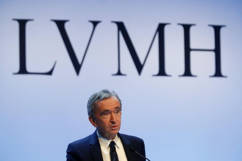 Ο επικεφαλής της LVMH, Αρνό Μπερνάρ