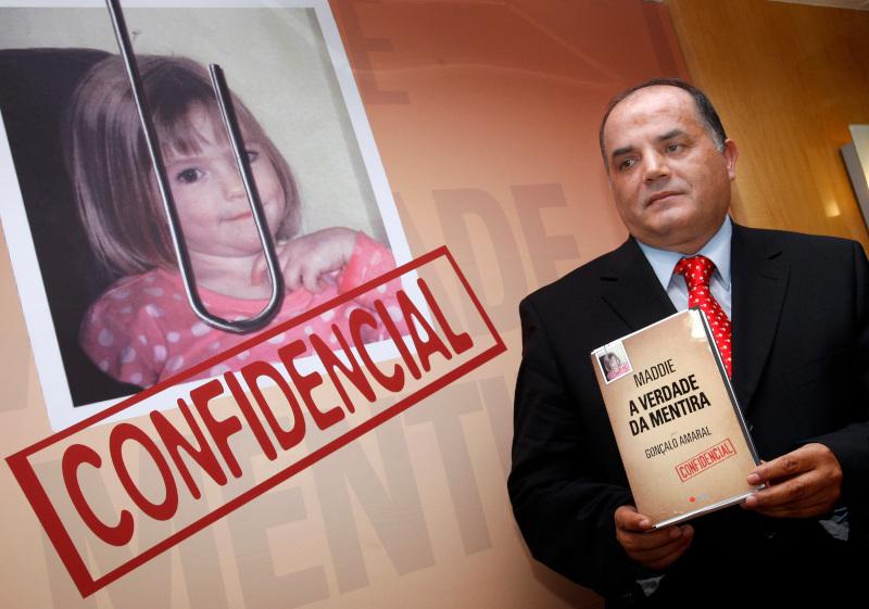Ο Πορτογάλος ντετέκτιβ Γκονζάλο Αμαράλ που έγραψε βιβλίο για την εξαφάνιση της Μαντλίν