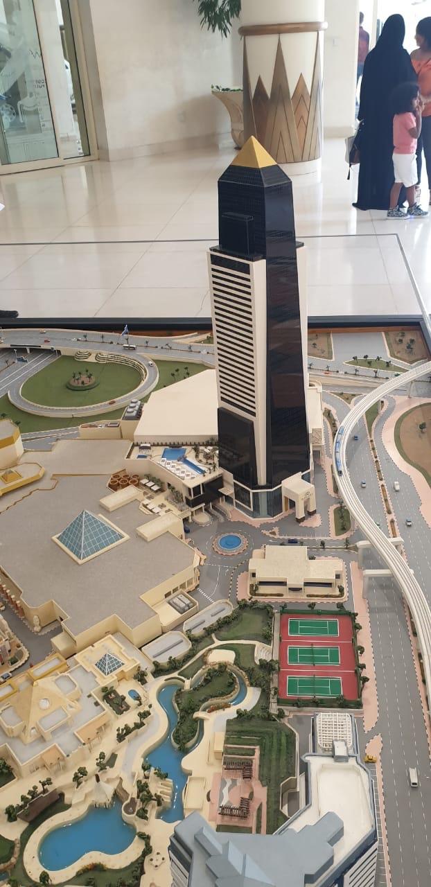 Μακέτα ξενοδοχείου στο Ντουμπάι