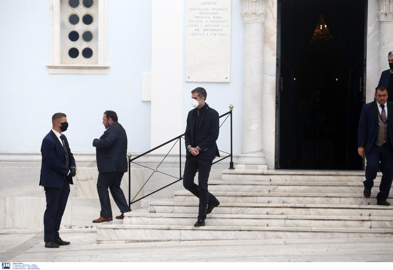 Μανώλης Γλέζος κηδεία