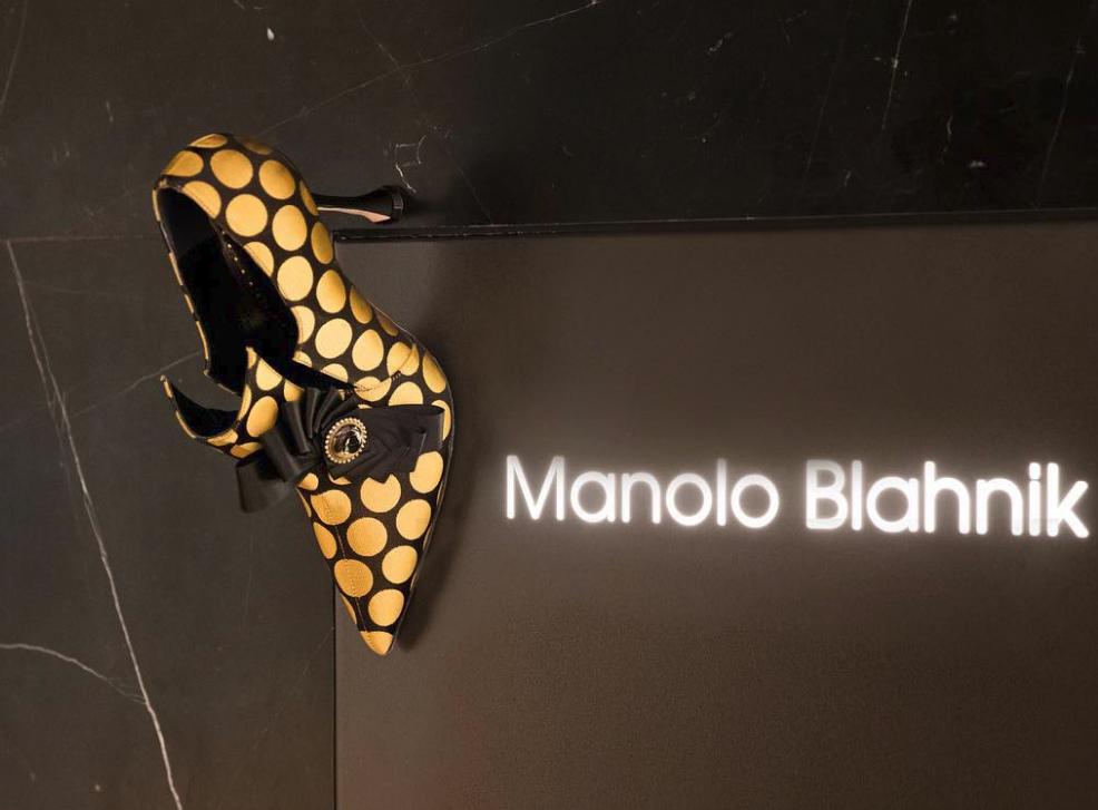 Αλλη μια έμπνευση του Μανόλο Μπλάνικ