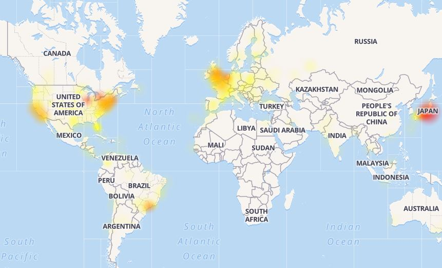 Οι περιοχές που αντιμετωπίζει τα περισσότερα προβλήματα το twitter