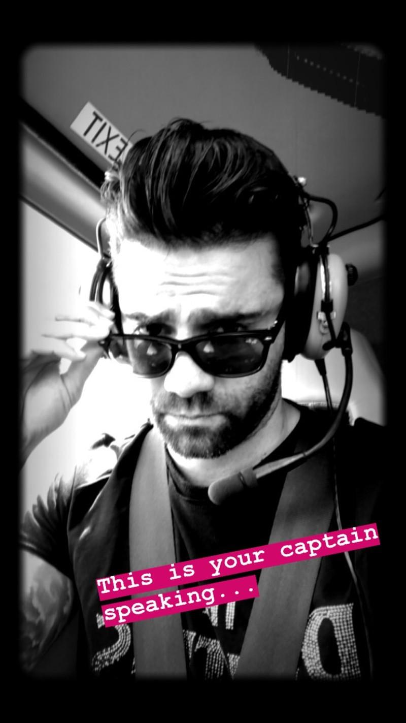 Ο Θοδωρής Μαραντίνης πηγαίνει στο Γκραντ Κάνυον με ελικόπτερο / Φωτογραφία: Instagram