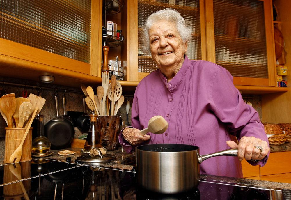Η διάσημη Ιταλίδα σεφ που έκανε διάσημη την ιταλική κουζίνα σε όλη την Αμερική