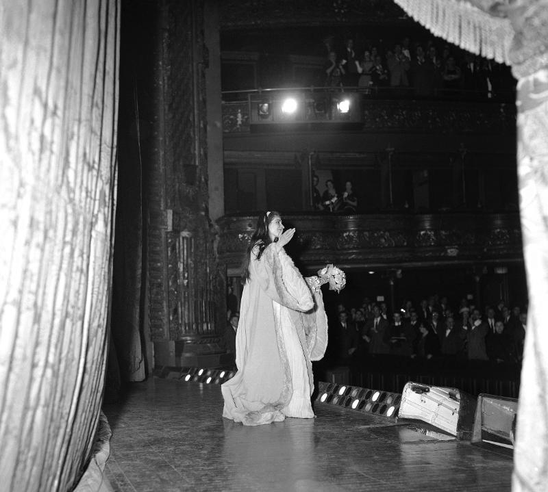 Μαρία Κάλλας στη σκηνη
