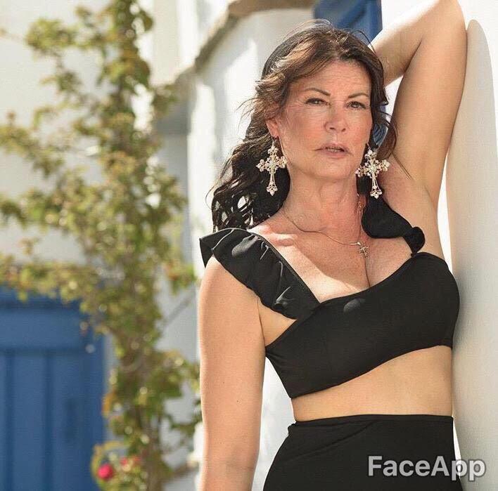 Μαρία Κορινθίου Faceapp