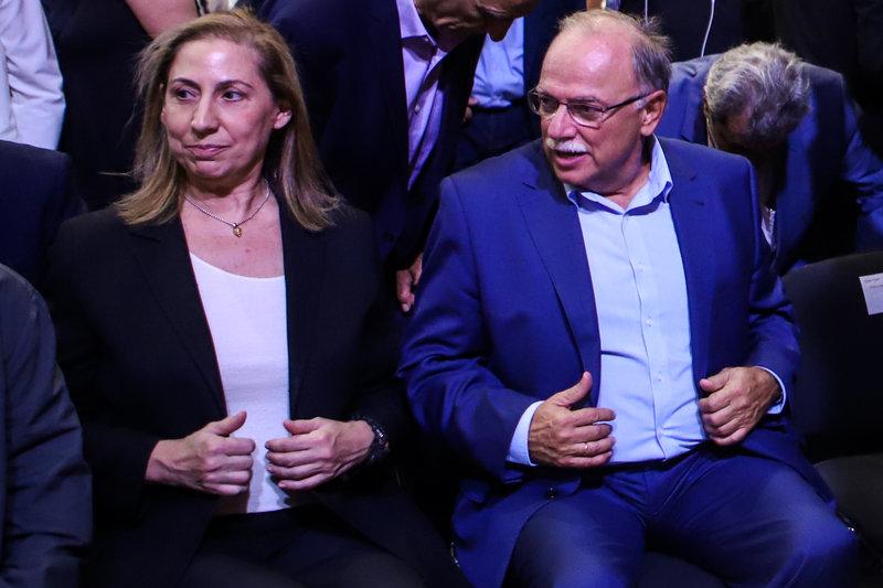 Μαριλίζα Ξενογιαννακοπούλου, Δημήτρης Παπαδημούλης στη ΔΕΘ 2019