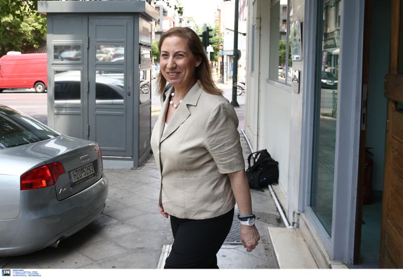 Η Μαριλίζα Ξενογιαννακοπούλου στην συνεδρίαση της ΠΓ του ΣΥΡΙΖΑ
