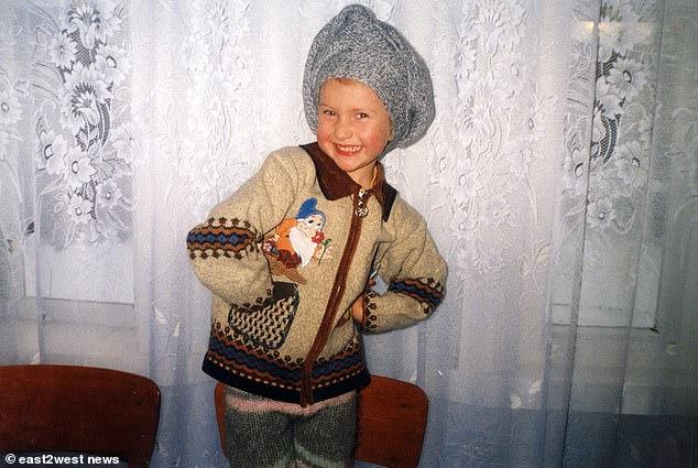 Η μικρή Μαρίκα που απασχόλησε την κοινή γνώμη καθώς ήταν το πρώτο παιδί που γεννήθηκε στο Τσέρνομπιλ μετά το πυρηνικό ατύχμα