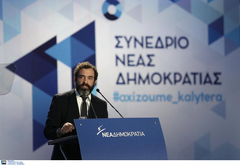 Ο Κωνσταντίνος Μαρκουλάκης στο 11 Συνέδριο της ΝΔ-