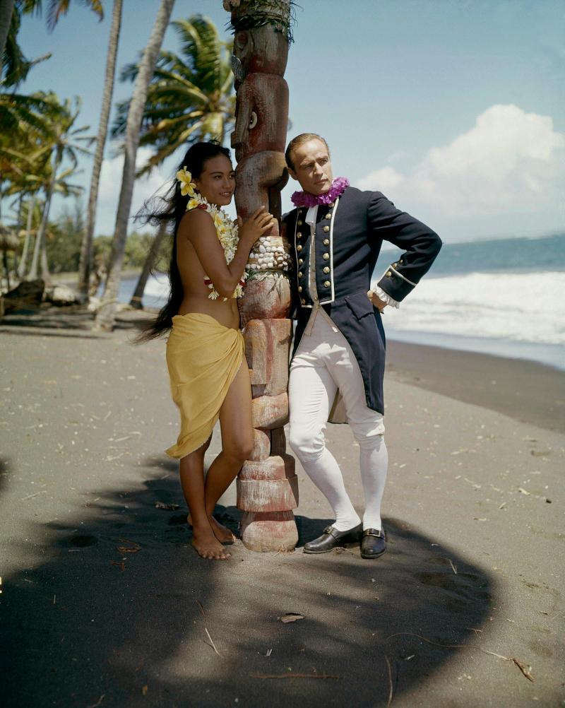 Ο Μάρλον Μπράντο στην ταϊτή