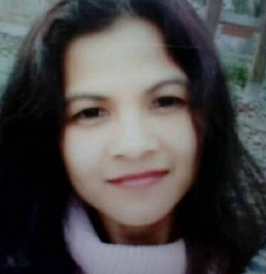 Κοντινό νεαρής γυναίκας, της Φιλιππινέζας Μαίρη Ρόουζ που δολοφονήθηκε στην Κύπρο