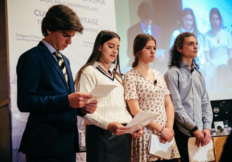 Μαθητές τεσσάρων σχολείων μίλησαν για την αξία διατήρησης της πολιτιστικής κληρονομιάς
