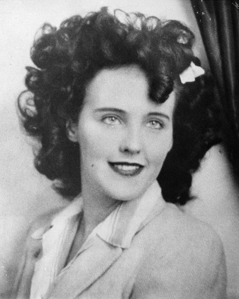 Η ηθοποιός Elizabeth Short, γνωστή ως Μαύρη Ντάλια