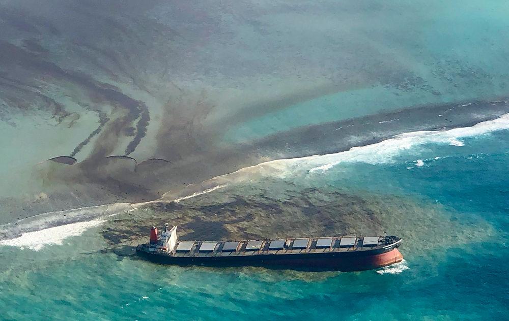 Φόβοι για ολοκληρωτική διάλυση του πλοίου και οικολογική καταστροφή στον Μαυρίκιο