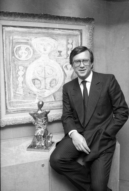 Πορτρέτο του Maurizio Gucci πριν τη δολοφονία το 1995