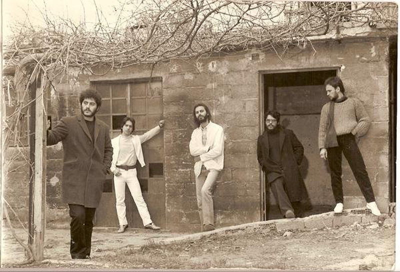PLJ. Το πρώτο συγκρότημα του Λαυρέντη Μαχαιρίτσα
