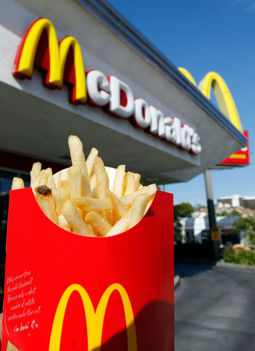 Χιλιάδες μερίδες πατάτες μοιράζουν δωρεάν τα McDonalds στο Οντάριο, κάθε φορά που οι Τορόντο Ράπτορς πετυχαίνουν 12 τρίποντα σε έναν αγώνα