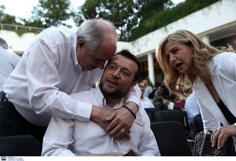 Ο Τέρενς Κουίκ, ο Νίκος Παππάς και η Μερόπη Τζούφη-
