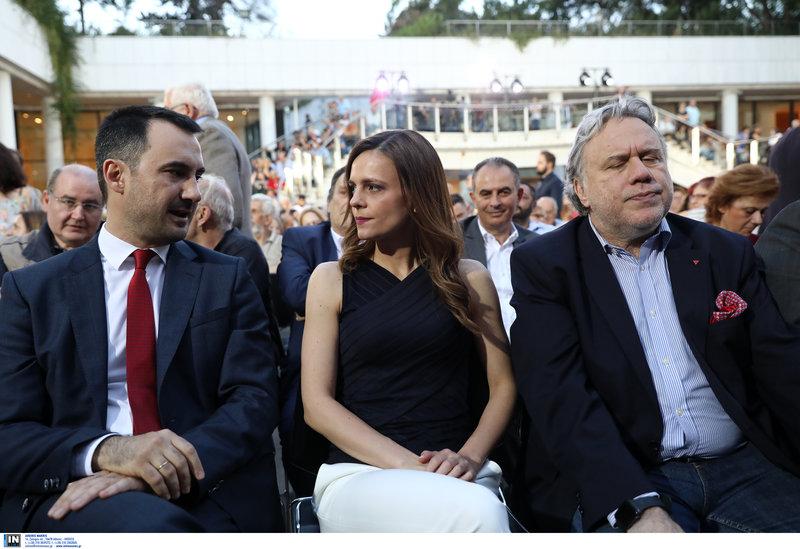 Αλ. Χαρίτσης, Εφη Αχτσιόγλου και Γ. Κατρούγκαλος